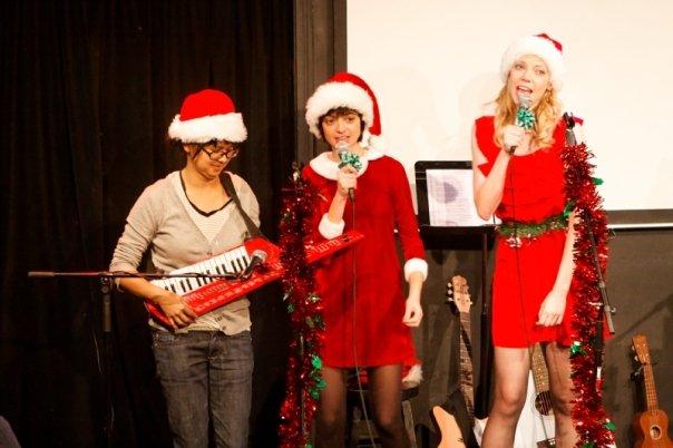 Christmas 2009 with Charlyne Yi