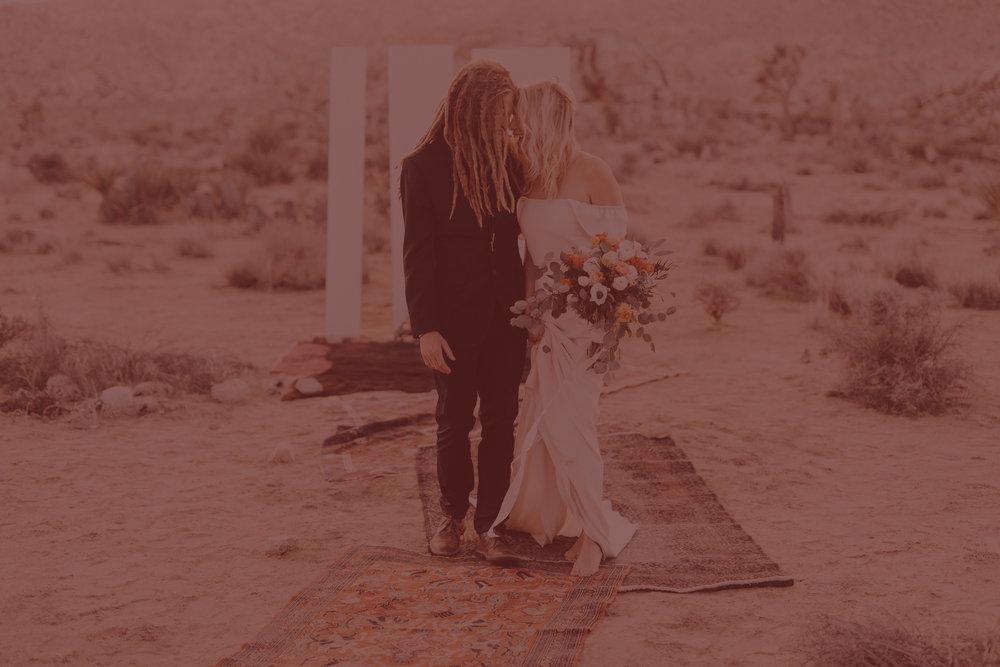 nuptials. -