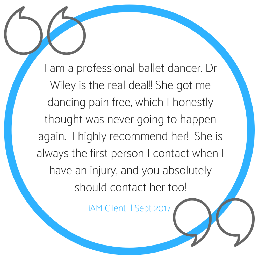 Dr. Wiley cured my sciatica, lower back pain, and limited mobility in a few sessions. I cannot recommend her enough to surfers, dancers, yogis and folks that sit too much.-9.png