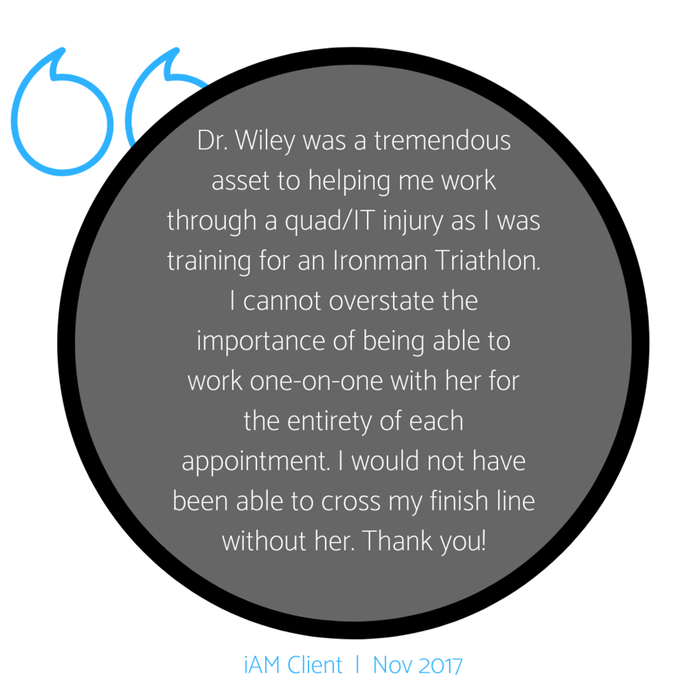 Dr. Wiley cured my sciatica, lower back pain, and limited mobility in a few sessions. I cannot recommend her enough to surfers, dancers, yogis and folks that sit too much.-12.png