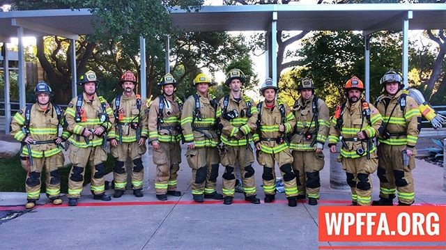 Westlake Engines 901 and 902 met up this morning for a 9/11 memorial stair climb in honor of the 343 firefighters that lost their lives 15 years ago, as well as the 127 and counting who have lost their lives as a result of illnesses related to their work in the WTC rescue and recovery efforts. Special thanks to Seth Bonnecarrere for setting it up, as well as the off duty firefighters who showed up to participate. #NeverForget  #343 #fdny