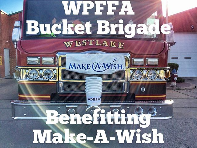Keep an eye out for our firefighters this morning as they take to the streets for this years Bucket Brigade! Our flagship charity this year is Make-A-Wish of Central & South Texas. Please go to www.wpffa.org for more details. #makeawish