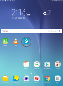 4. App is now added to your home screen