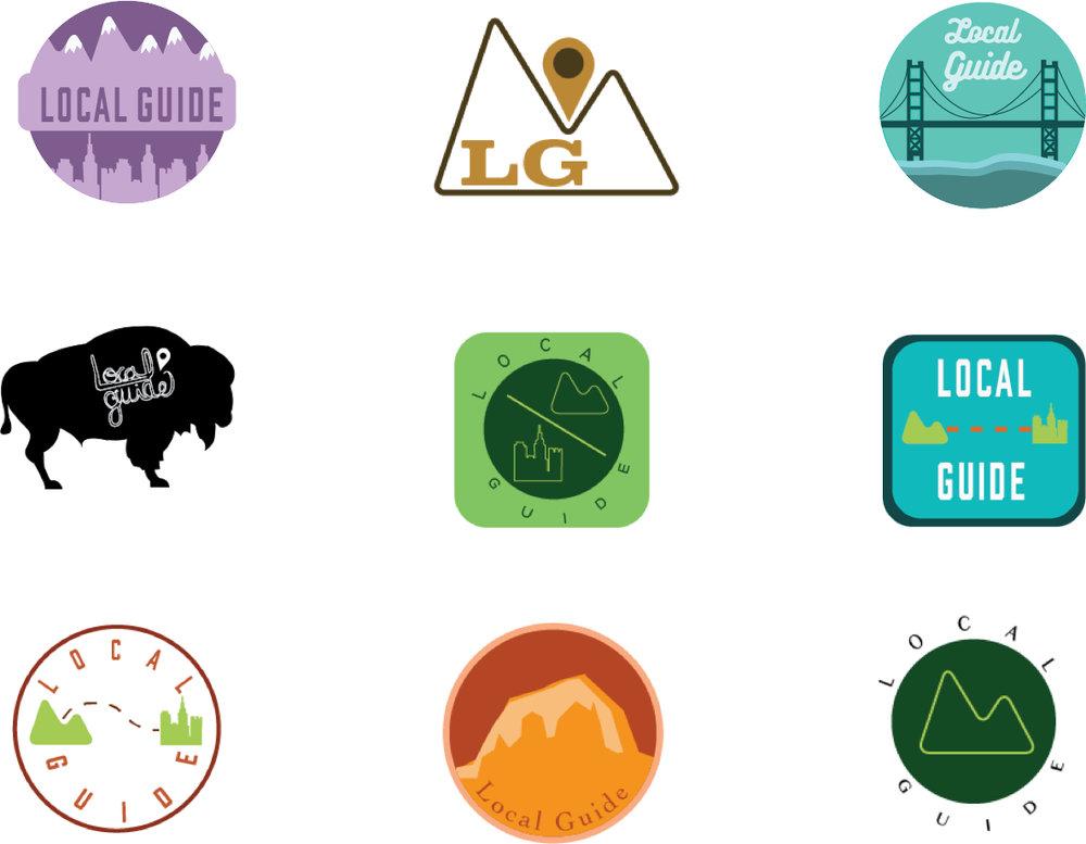 LocalGuide logos