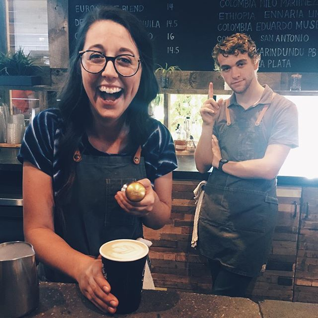 me: so ur basically gonna win this latte art throwdown right  shayne: probably not but I'm gonna compete! me to myself: *ya she's gonna win* shayne: *WINS*  Literally the master and the GOAT. #Gold #FirstPlace #TooMuch #SpeakingThingsIntoExistence