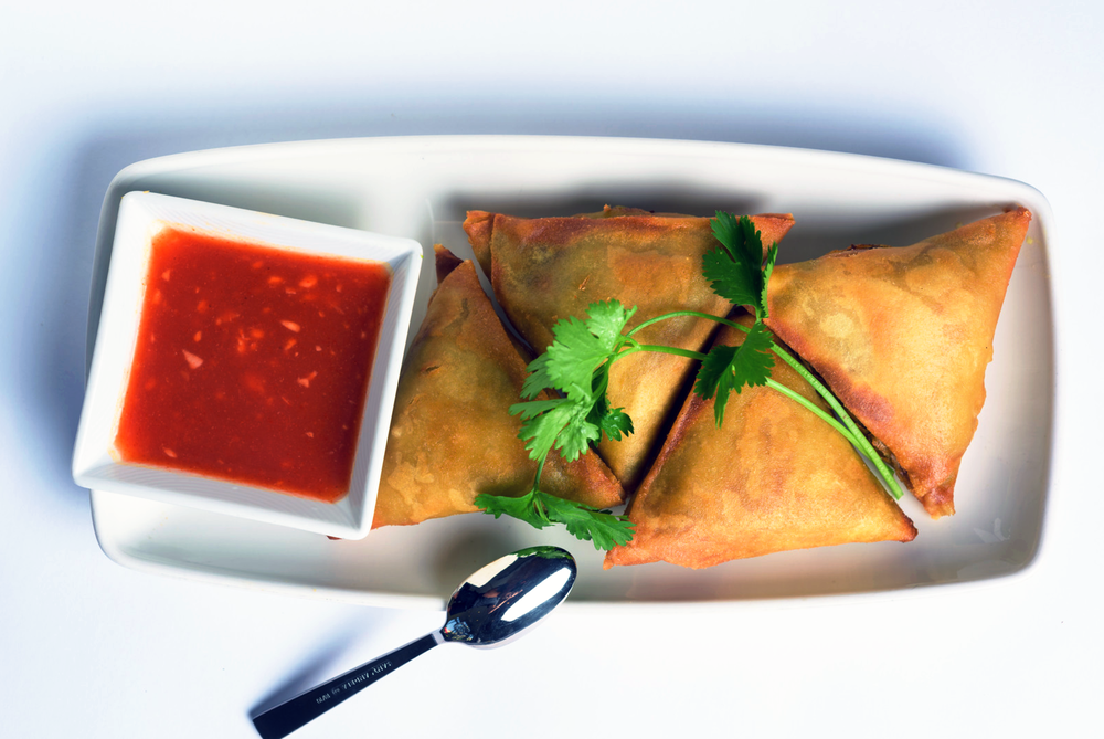 Rangoon Ruby Samosas