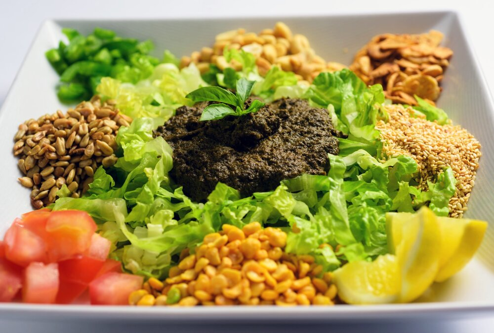 Rangoon Ruby Tea Leaf Salad