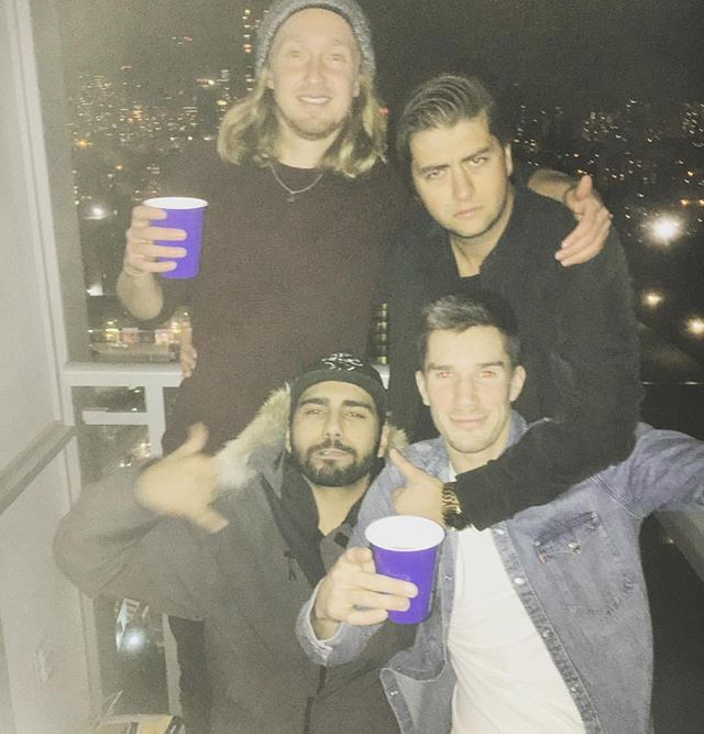 The #tdot #boiiiiiiis #chillin #crew #haf #fuckyoy #fuckoff #view #views #obnoxious #happybdaydes
