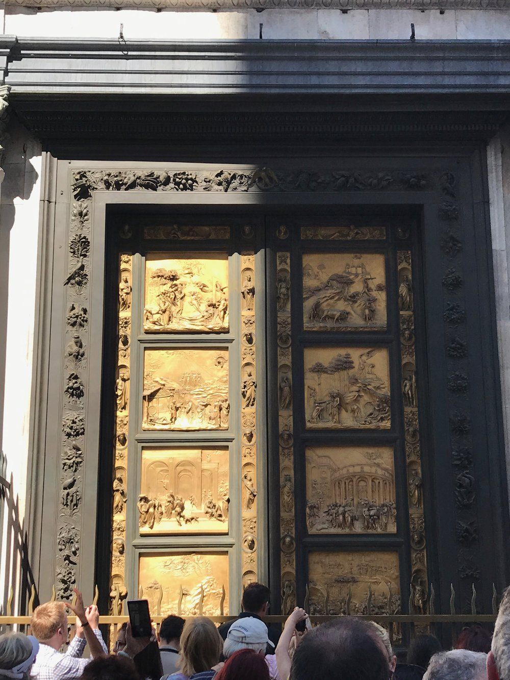 The original doors of the Florence Baptistery (the doors now standing outside open to & Lisa u0026 Ed Youssef u2014 The Beard u0026 Curl