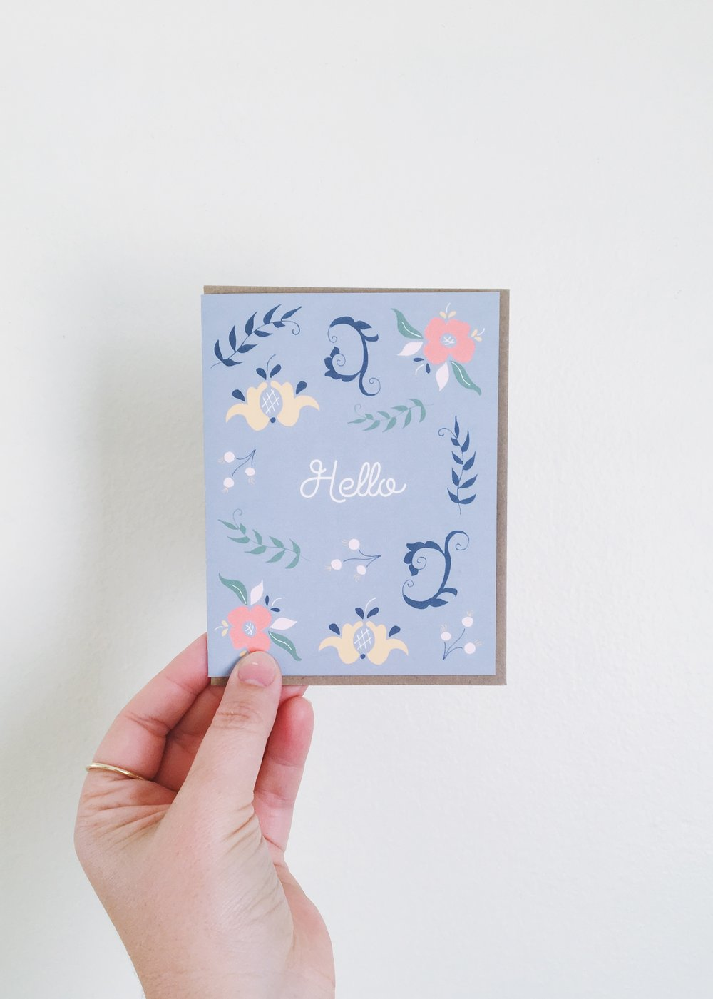 Scandinavian Greeting Card