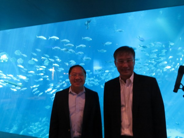 MEETING WITH GROUP MD CITYNEON  Group MD Cityneon Holdings Ko Chee Wah hosted his talk at Resorts World Sentosa SE Asia Aquarium on Cityneon's growth in Singapore and worldwide - 17 Oct 2013