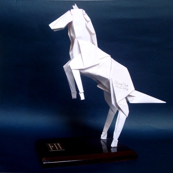 A recent model I have designed is the Spirited Horse, for the current Chinese Year of the Horse.