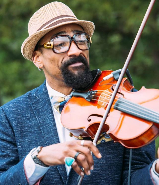 Meet Cosa Nostra. The band stylist & fashion icon, Keith Lawrence, just so happens to be one of the best violists this side of the Mississippi. If you come on the right night you just might get a chance to hear our secret weapon sing too! #meetcosanostra #cosanostrastrings