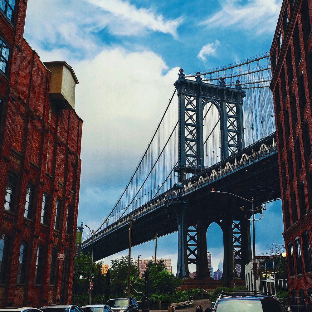 The view from DUMBO