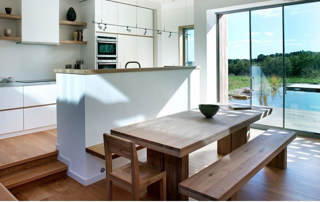 There Are A Number Of Practical Ways To Separate Kitchen From The Dining Area Without Banishing Them Different Rooms By Locating On