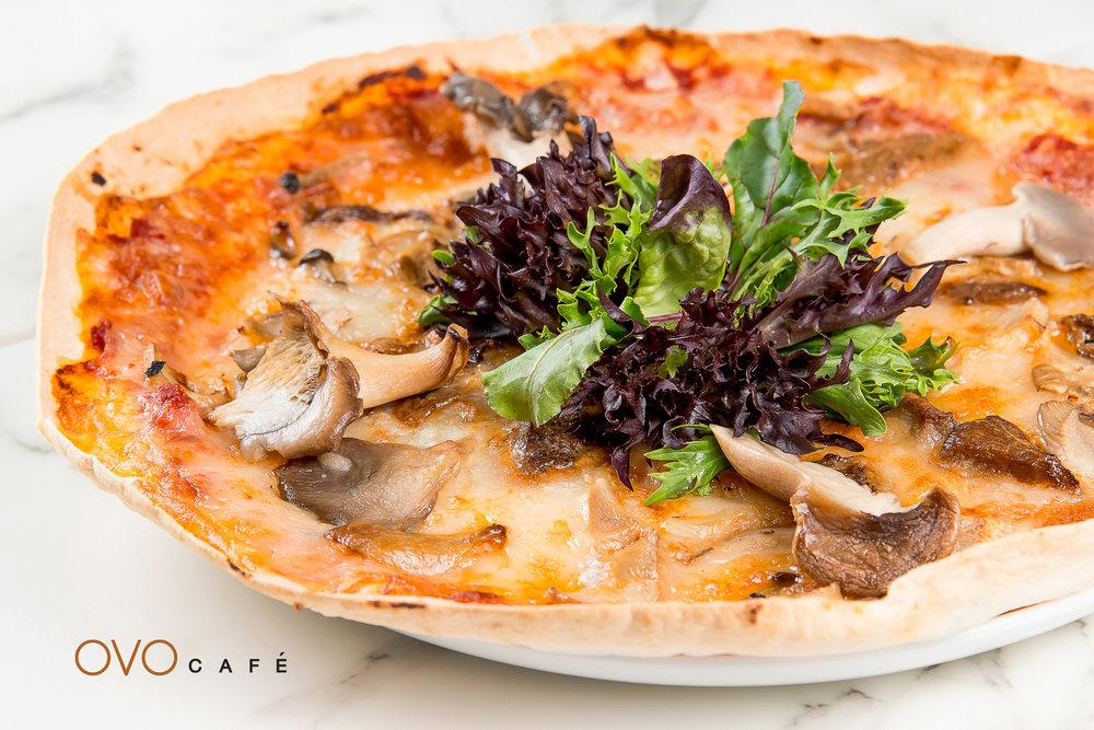 mush mushroom 意式薄餅配牛肝菌、芝士、雜菌