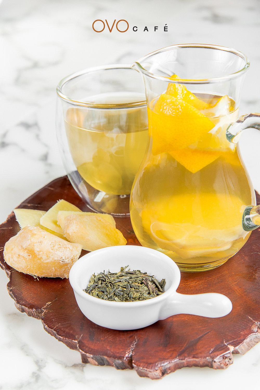 hello honey 檸檬薑蜂蜜配綠茶