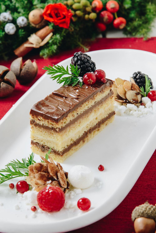 黑白朱古力歌劇院蛋糕  black & white opera cake