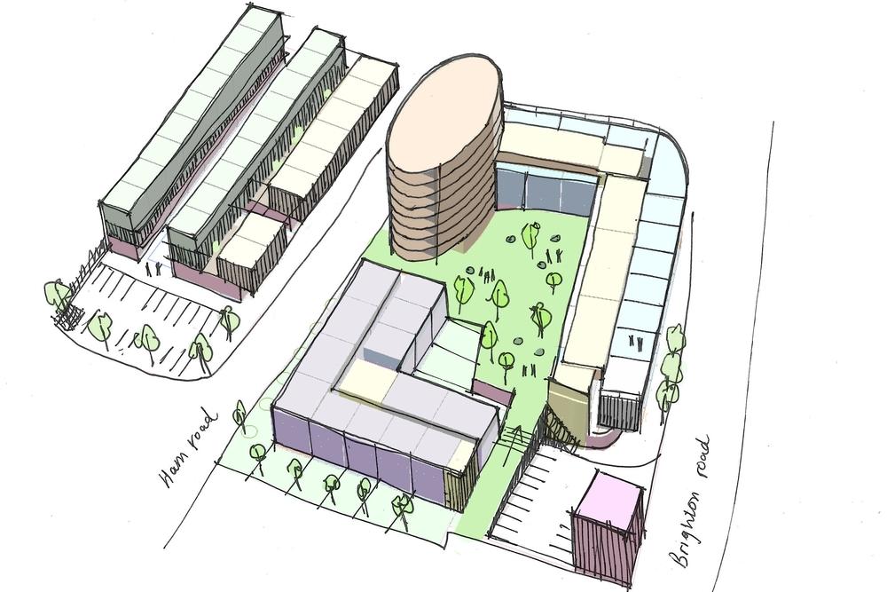 Civic Centre Shoreham