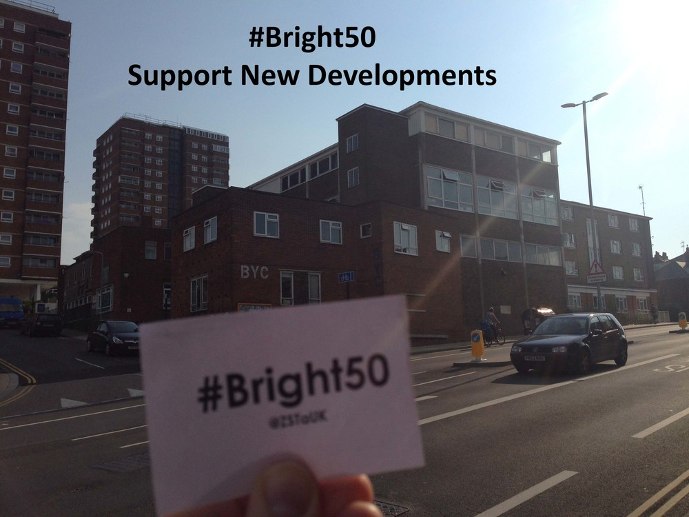 Bright50 support new developments