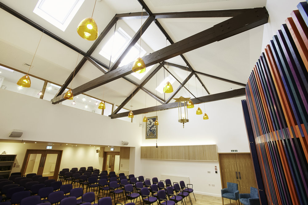 ZSTa new interior Hove Progressive Synagogue