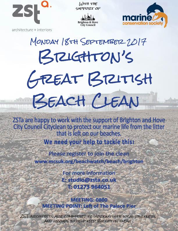 ZSTa Beach Clean 2017