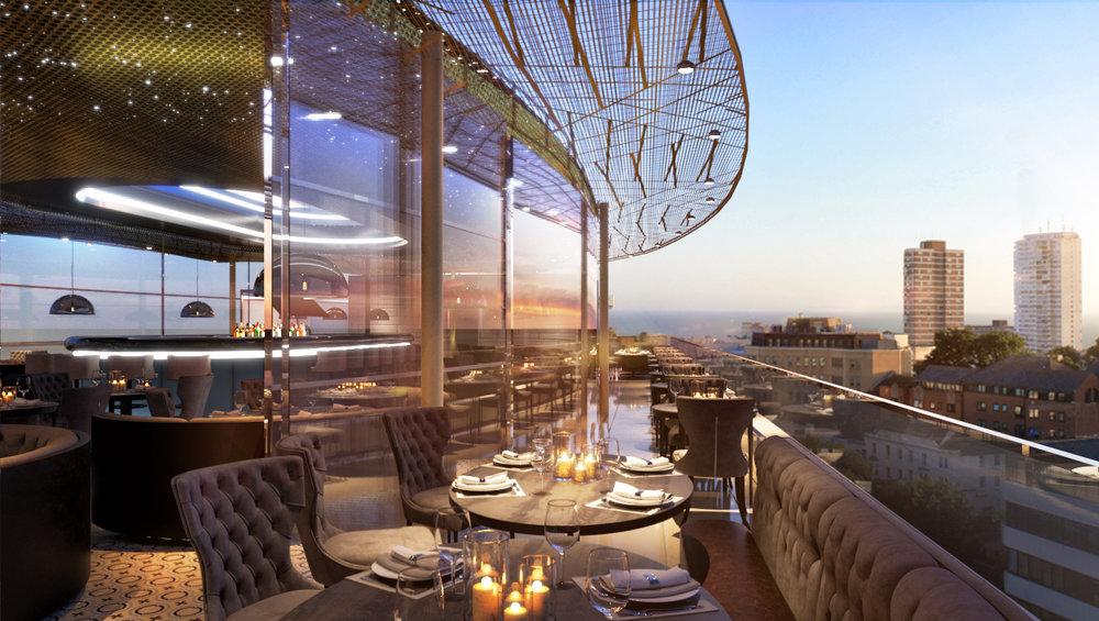 Hospitality : Tower Point Restaurant