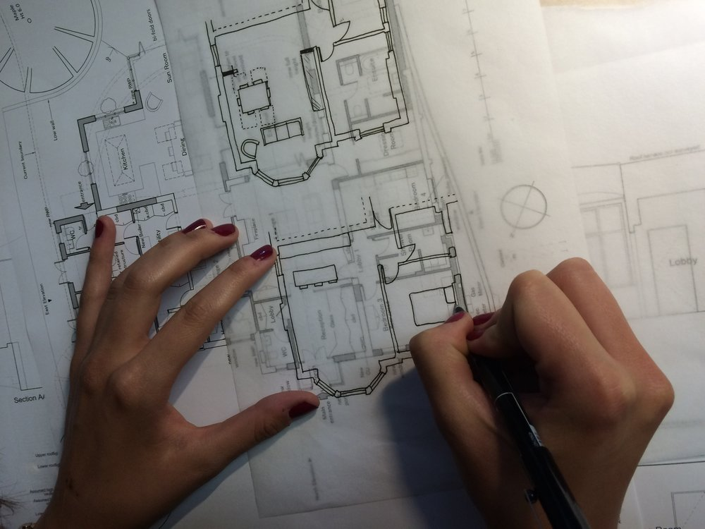 Architects sketch for ZST architects