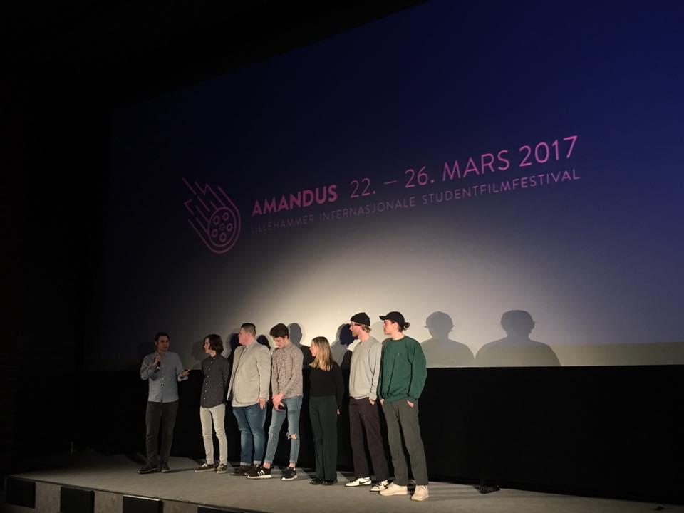 Bildet tatt av Amandus Lillehammer Internasjonale Studentfilmfestival
