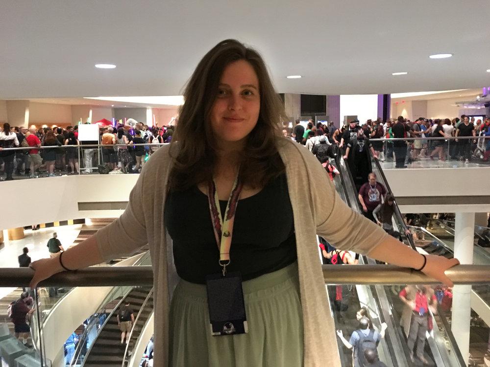 Regissør Margareta F. A. Orkan på Dragon Con 2017