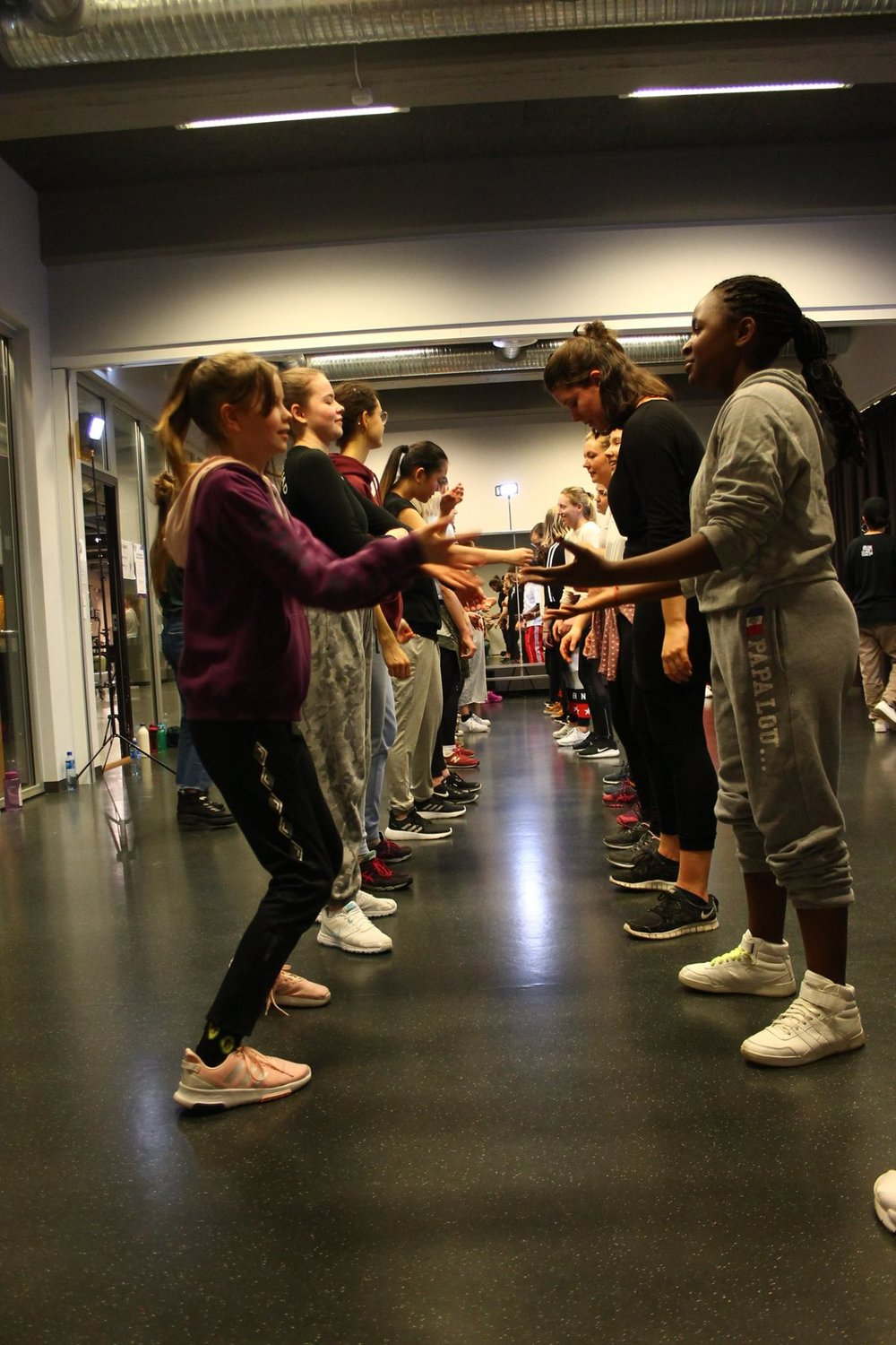 Hiphop, Popping og house workshop