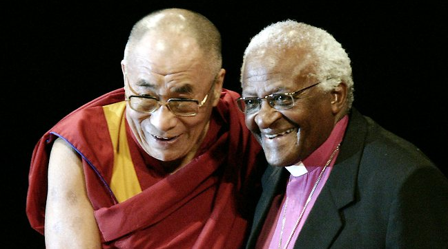 His Holiness the Dalai Lama and Archbishop Desmond Tutu