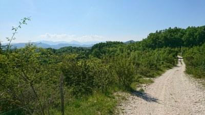 Views along Camino di San Benedetto, Italy