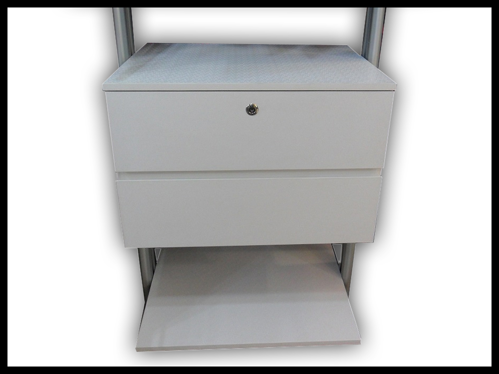 2 Tier Standard Drawer With Soft Close Feature