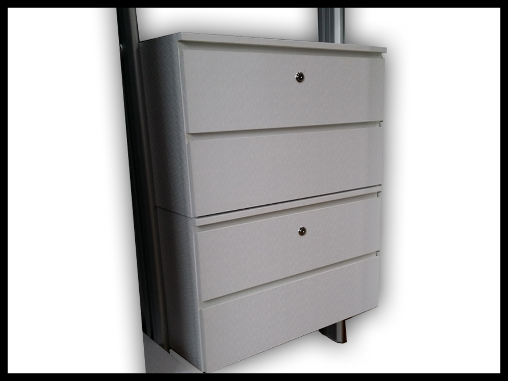 4 Tier Standard Drawer With Soft Close Feature