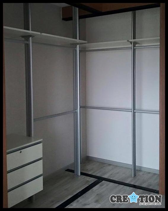 Pole System Closet
