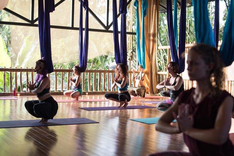 costa rica aerial yoga training | trilogy sanctuary