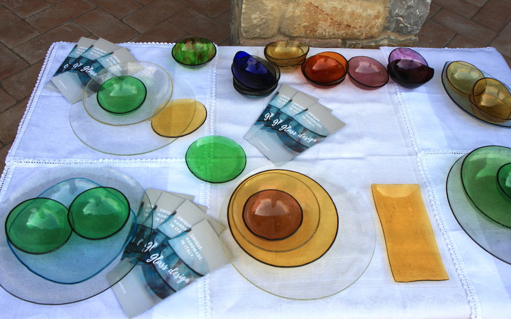 Glass Tableware by Studiosilice