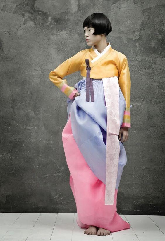 Korean Hanbok, Vogue Korea.