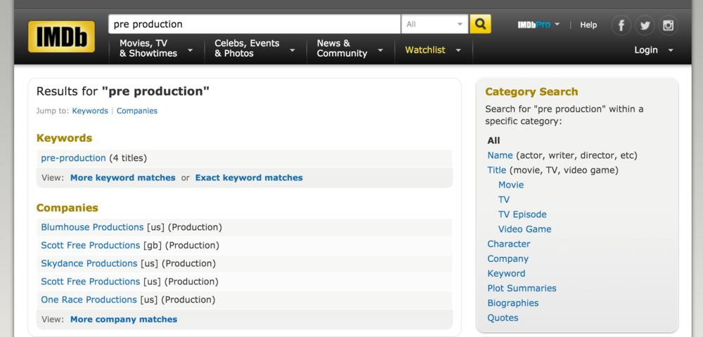 IMDb Usability Testing — Josephine Lau