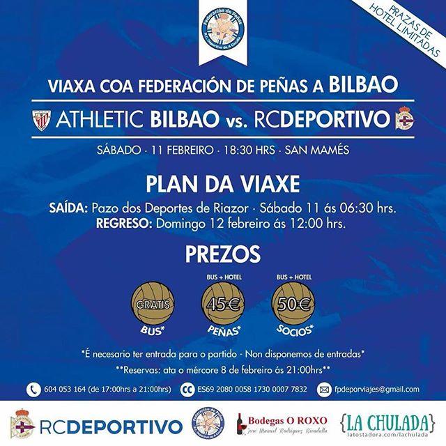 Viaxe a Bilbao #depor