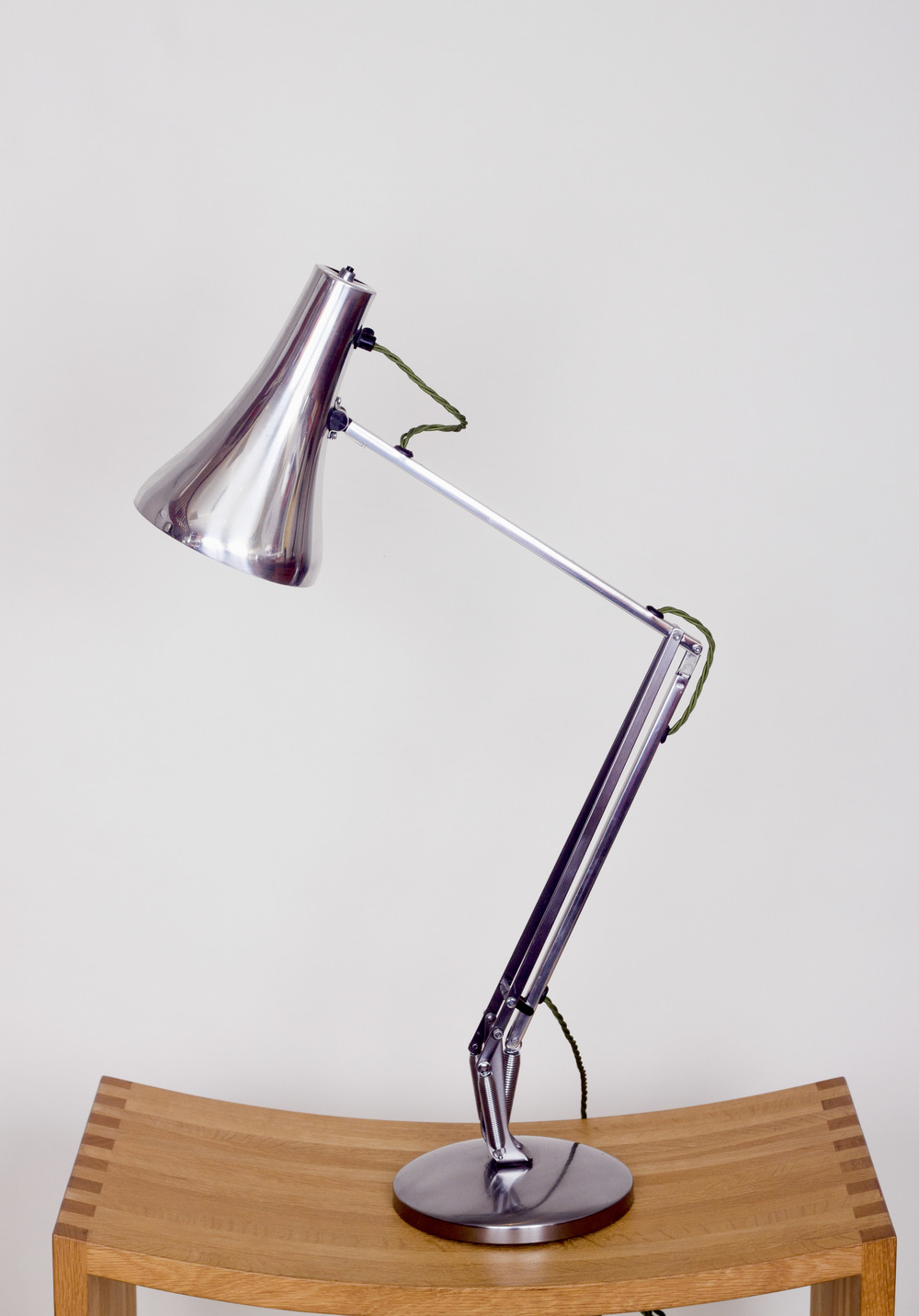 Chrome Anglepoise lamp by Herbert Terry, C1970.  £195