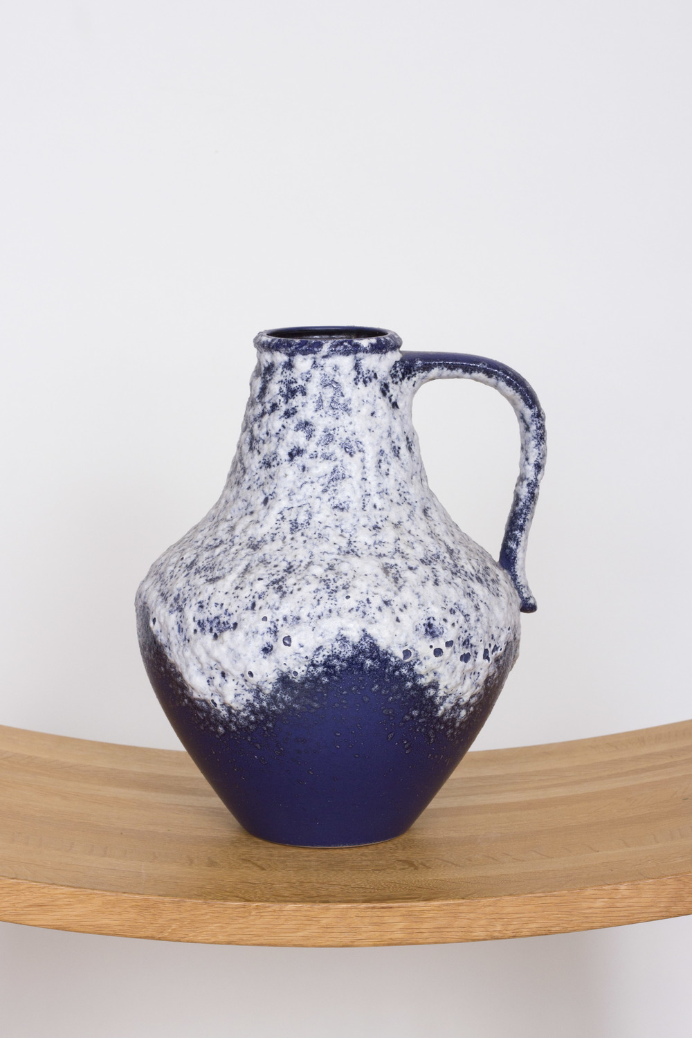 Blue Fat Lava with frothy Lava, west German £75