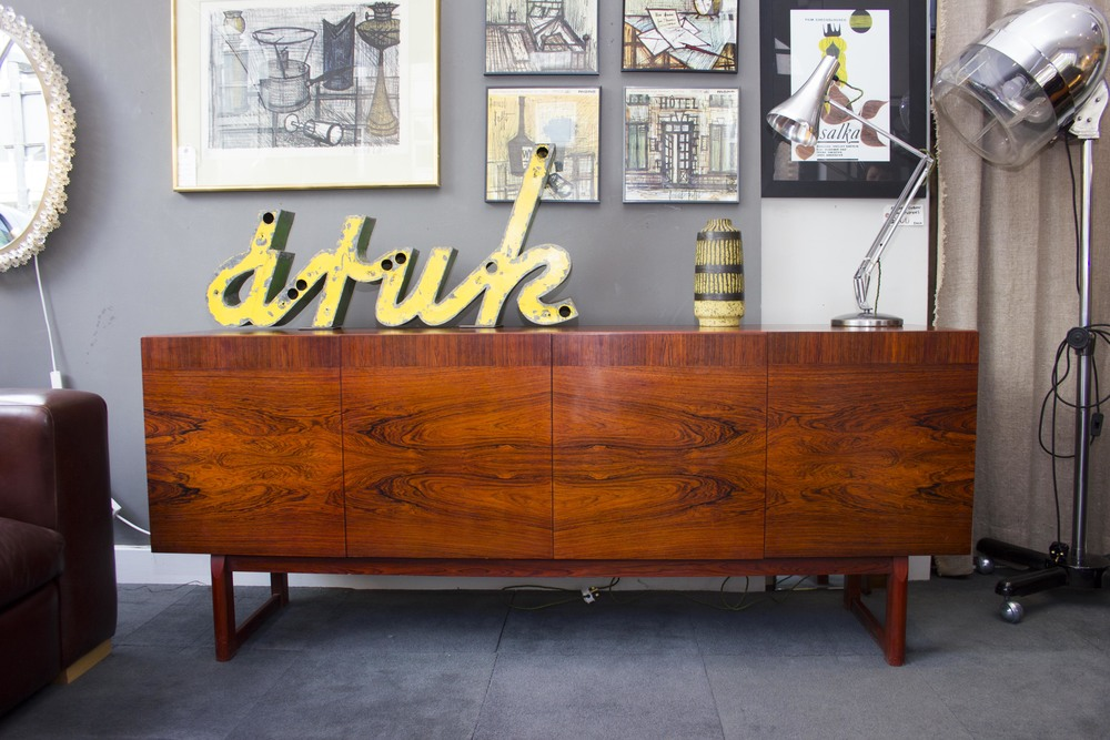 SOLD -   Danish rosewood sideboard cirac 1960  £750
