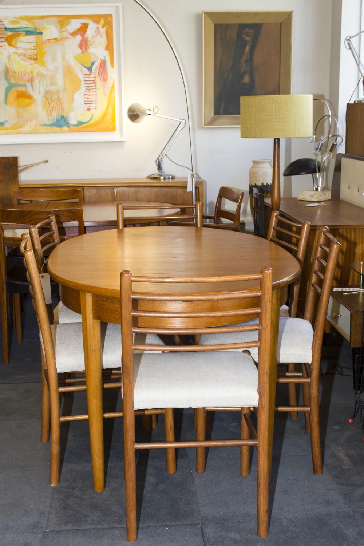 Teak extending table £175