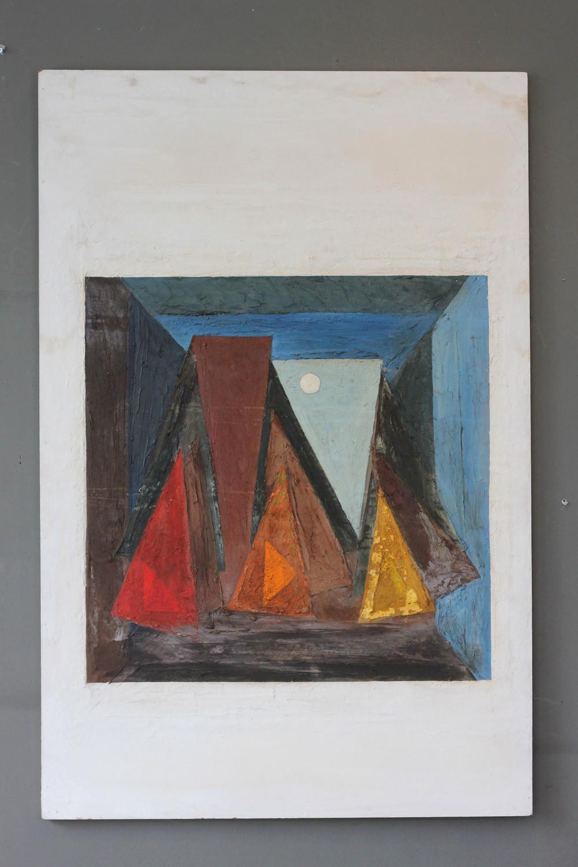 SOLD -  , 'Sailing Boats' Margaret Souter, 1960. £350