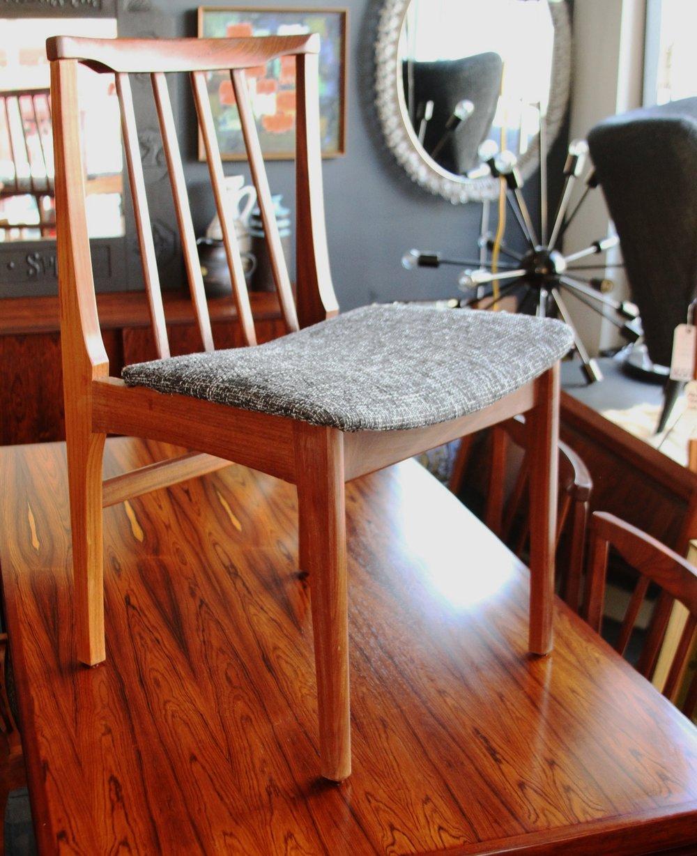 Set of 4 Aformosia Teak Chairs £350