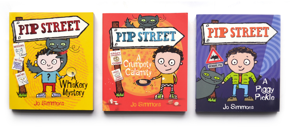 Pip Street for Scholastic.