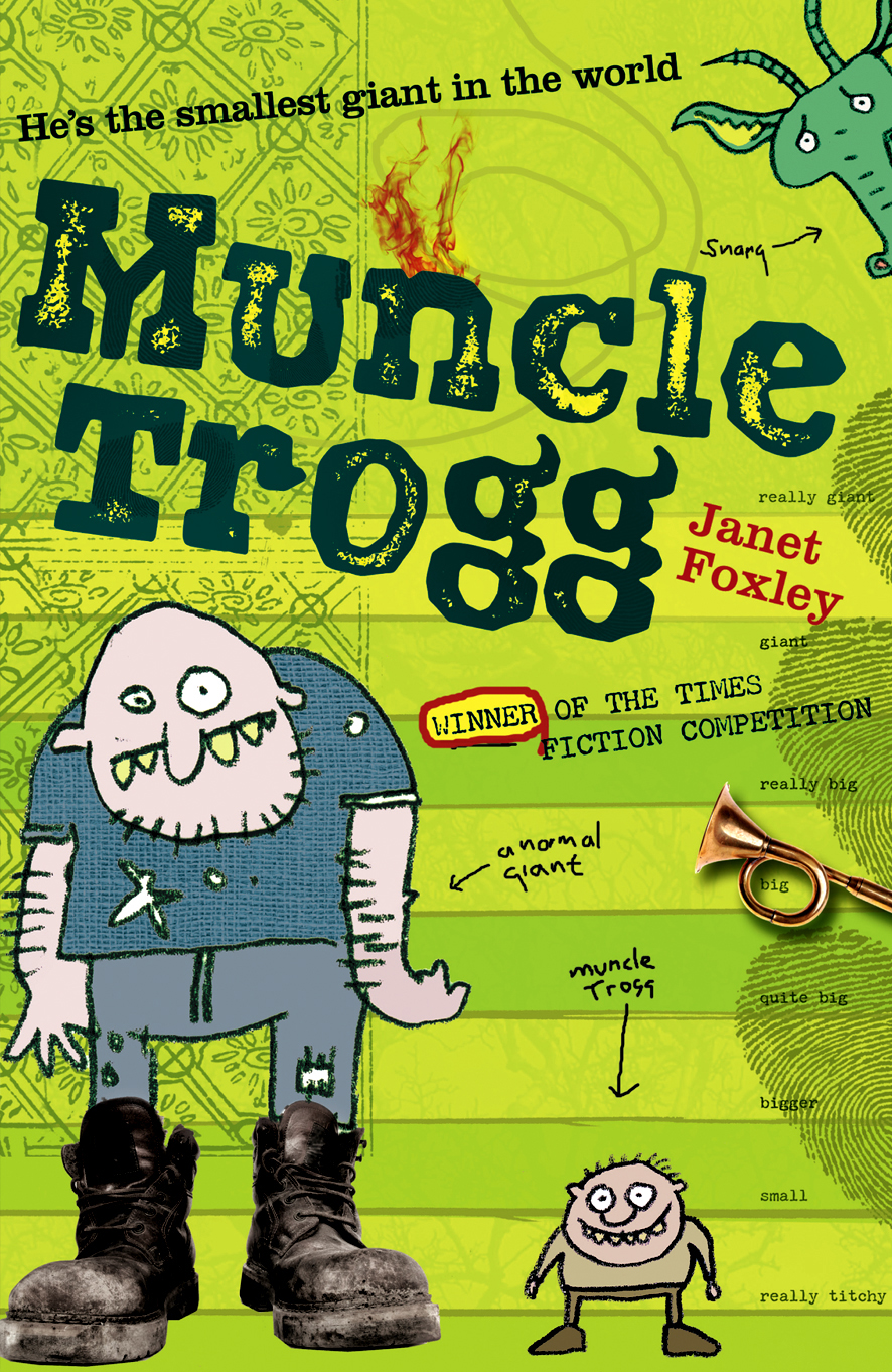 Muncle Trogg – designed and illustrated by me – books and illustrations sold to 29 countries.