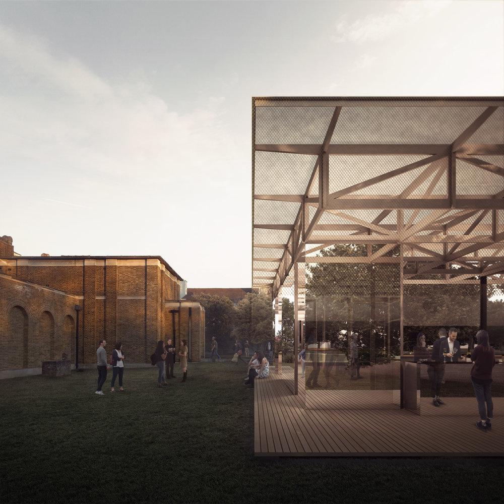 IF_DO's winning Dulwich Pavilion proposal